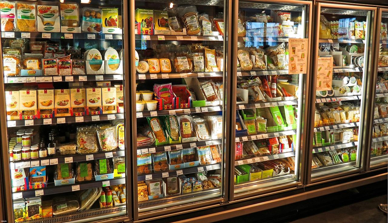 Supermarkt Kühlschrank